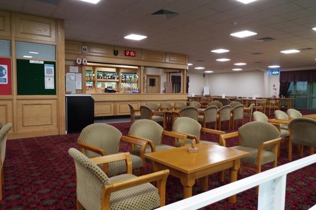 Daventry Indoor Bowls Seating Area